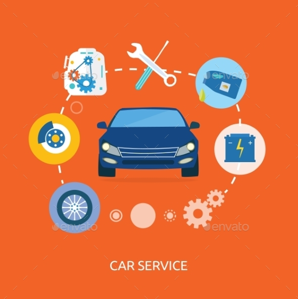 GraphicRiver Auto Mechanic Service 9383104