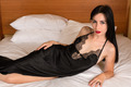 Black negligee - PhotoDune Item for Sale