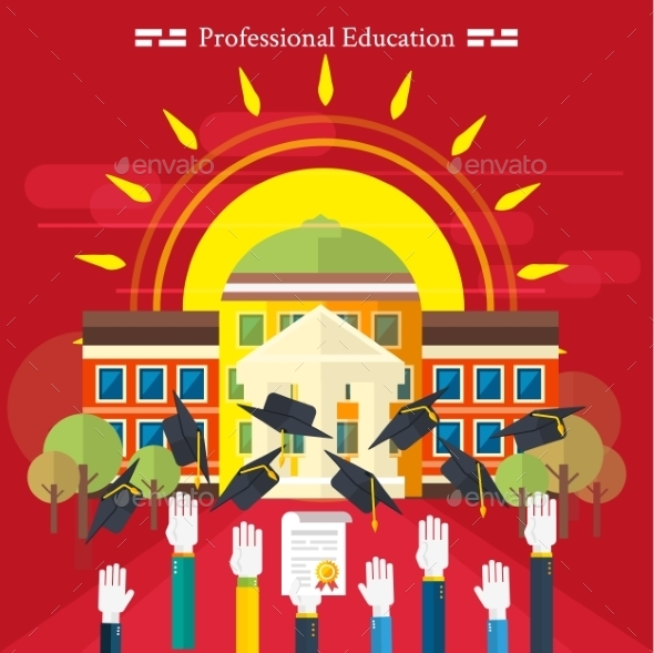 GraphicRiver Professional Education 9383387
