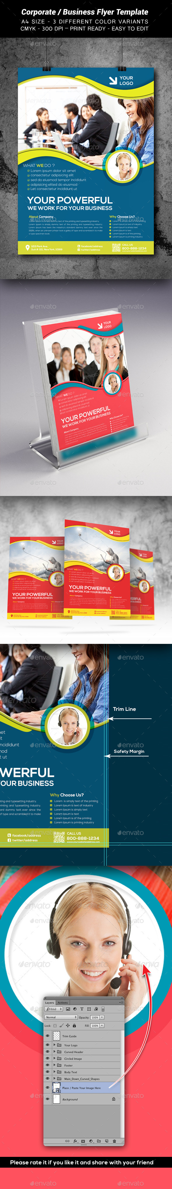 GraphicRiver Corporate Business Flyer Template3 9383435