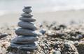 Stacked sea stones - PhotoDune Item for Sale