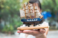 Model of a sailing ship - PhotoDune Item for Sale
