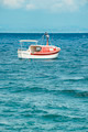 Boat in the Mediterranean Sea. - PhotoDune Item for Sale