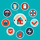 Vector House Insurance Concept in Flat Style - GraphicRiver Item for Sale