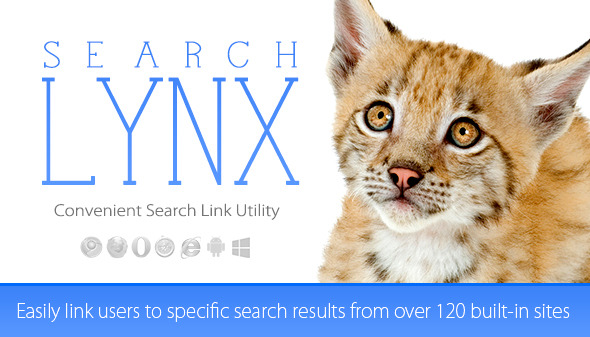 CodeCanyon searchLynx Convenient Search Links 9383558