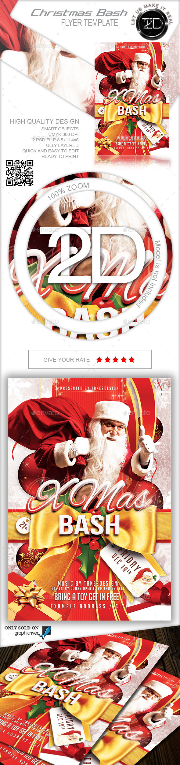 GraphicRiver Christmas Party-Xmas Bash 9343199