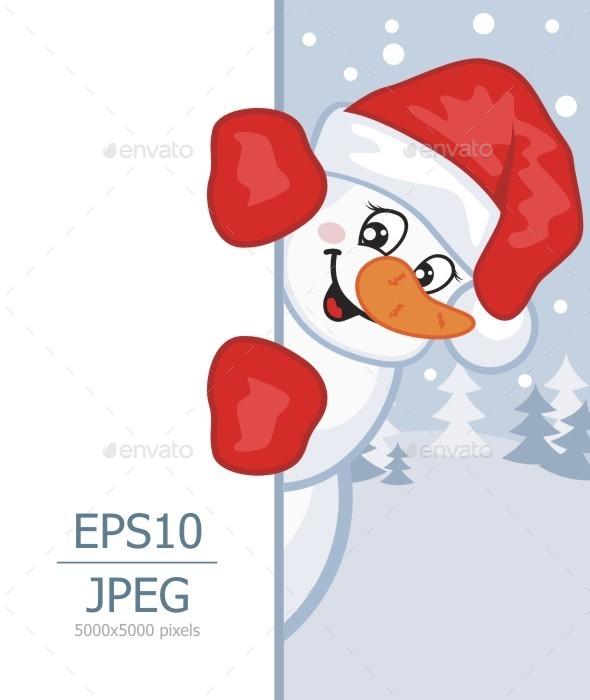 GraphicRiver Snowman 9383889