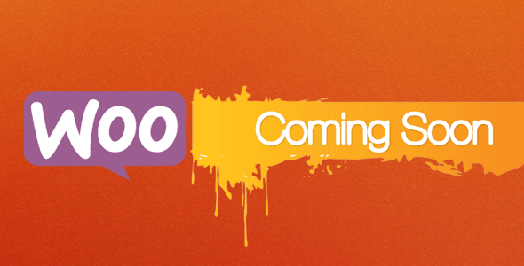 CodeCanyon Woo Coming Soon 9364035