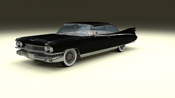 1959 Cadillac Eldorado Coupe - 3DOcean Item for Sale