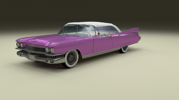 1959 Cadillac Eldorado Biarritz Top - 3DOcean Item for Sale