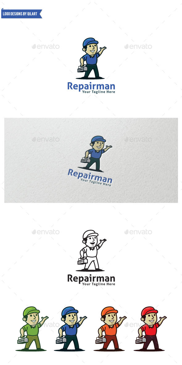GraphicRiver Repairman 9384846