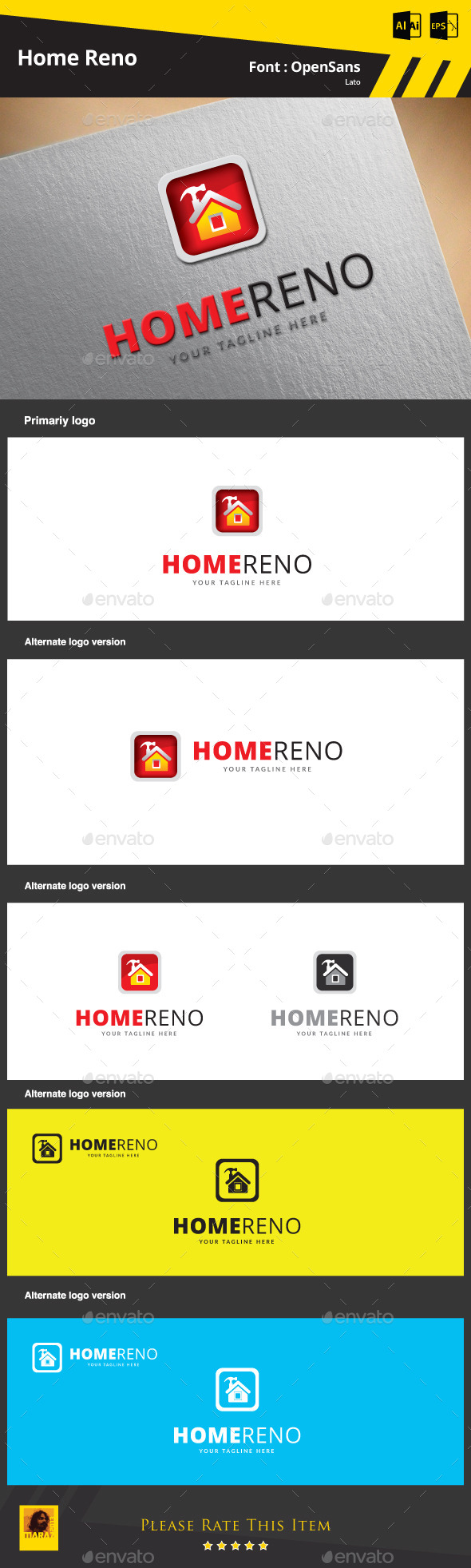 GraphicRiver Home Reno 9384932
