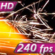 Jet Flames on a Black Background - VideoHive Item for Sale