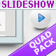 Slideshow Templates Quad Pack - GraphicRiver Item for Sale