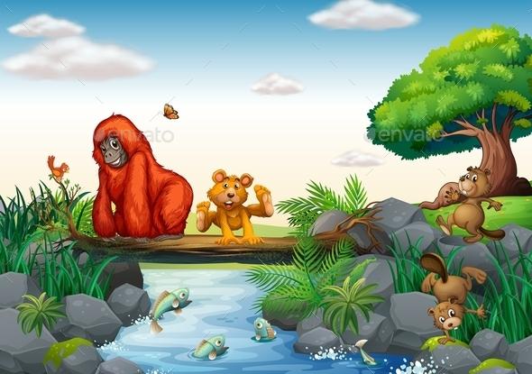 GraphicRiver Animals 9385982