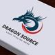 Dragon Source Logo - GraphicRiver Item for Sale