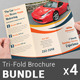 Automobile Business Tri-fold Brochure Bundle | V 1