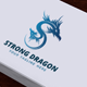 Strong Dragon Logo - GraphicRiver Item for Sale