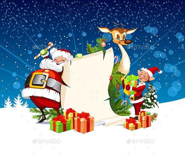 GraphicRiver Christmas Card 9388058