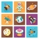 Space Icons Set - GraphicRiver Item for Sale