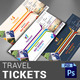 Travel Tickets - GraphicRiver Item for Sale