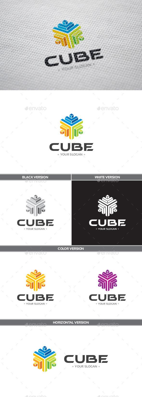 GraphicRiver Cube Logo 9400241