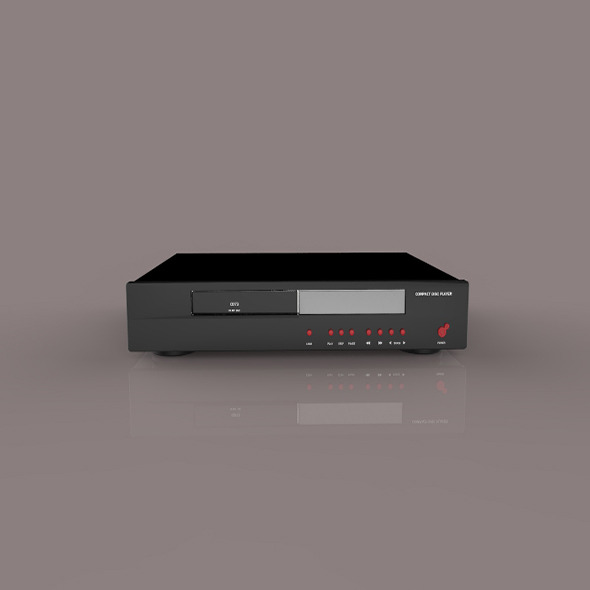 3DOcean DVD Receiver 9400793