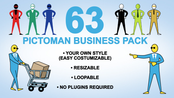 63 Pictoman Business Pack