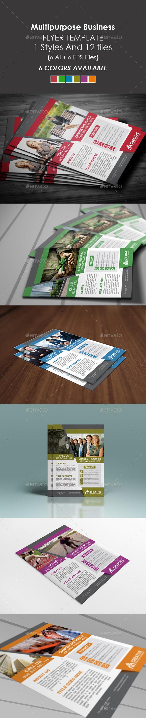 GraphicRiver Corporate Multipurpose Flyer 9400837