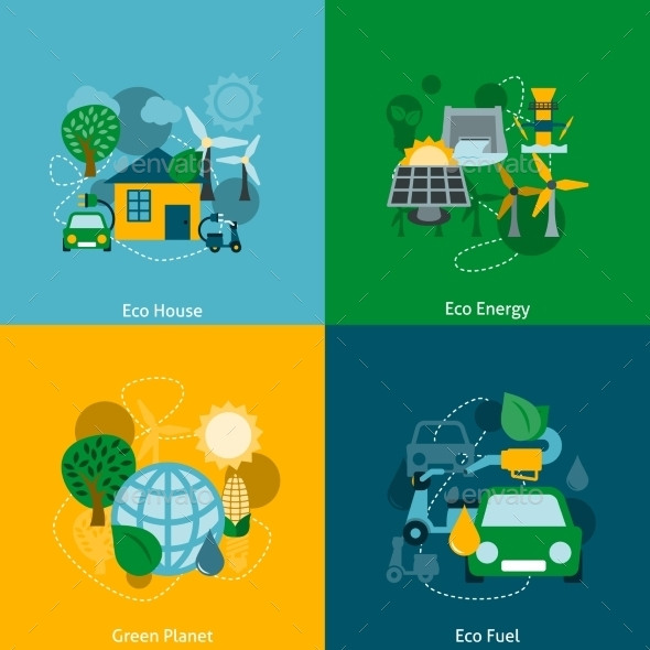 GraphicRiver Eco Energy 9401209