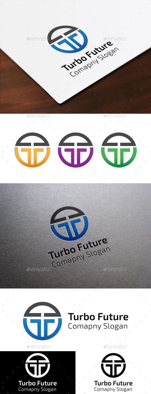 GraphicRiver Letter T logo 9401860