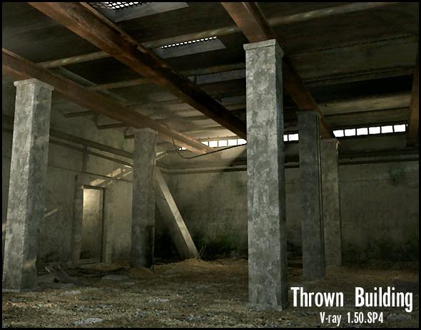 3DOcean Thrown building 120466