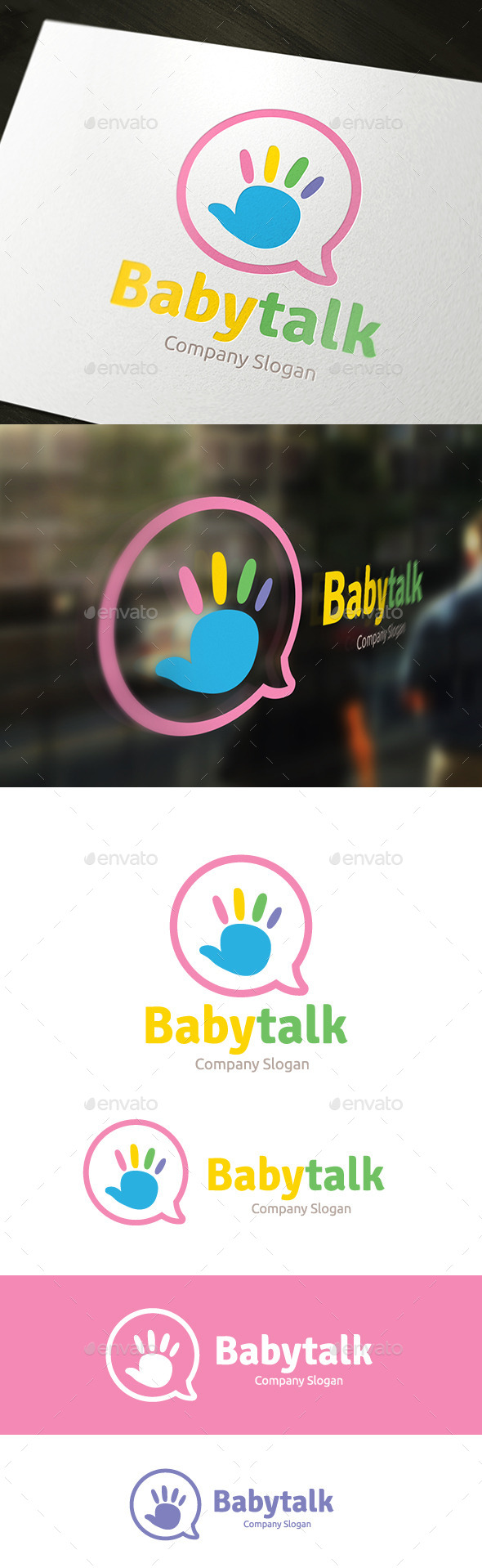 GraphicRiver Baby Talk 9401911