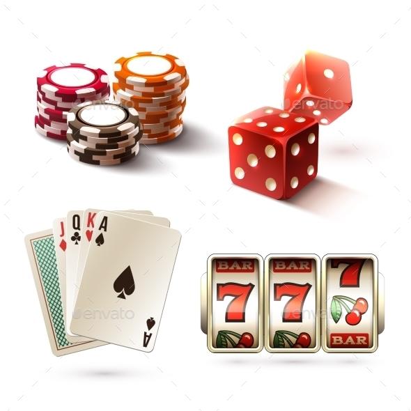 GraphicRiver Casino Design Elements 9401963