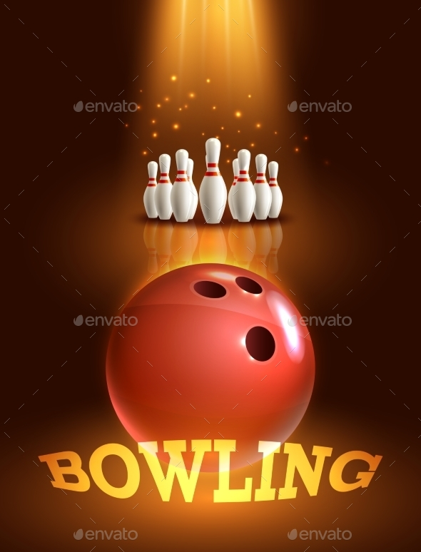 GraphicRiver Bowling Game Poster 9402002