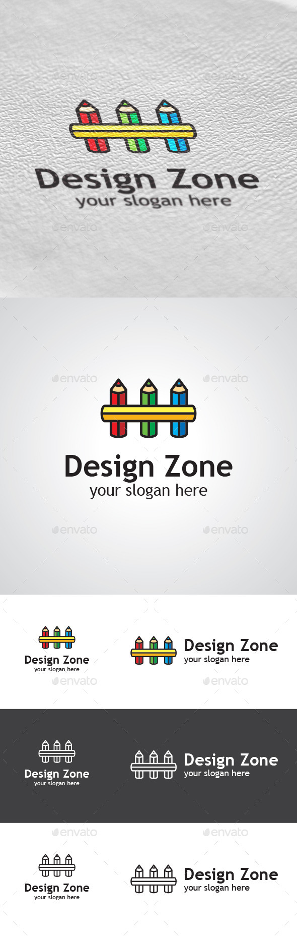 GraphicRiver Design Zone Logo Design 9402192