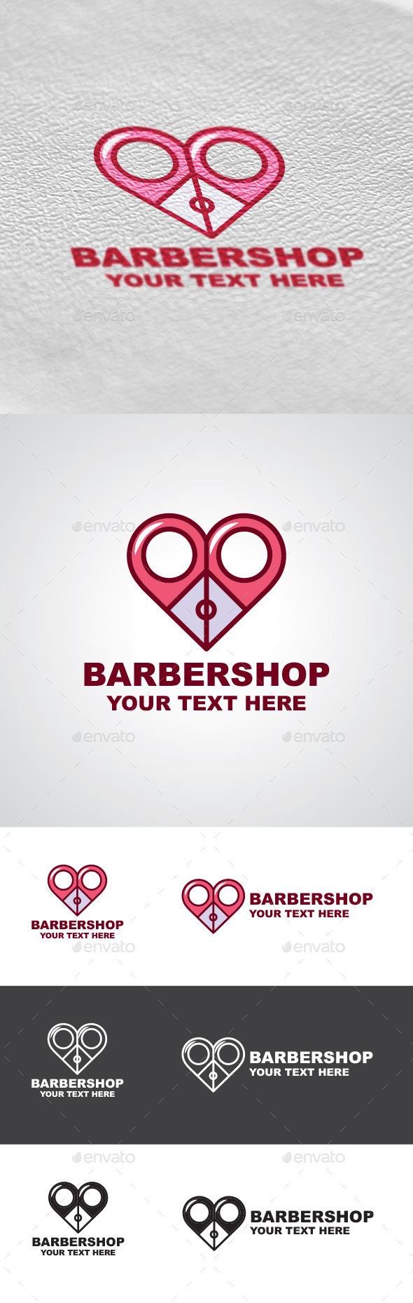 GraphicRiver Barbershop Logo Design 9402986
