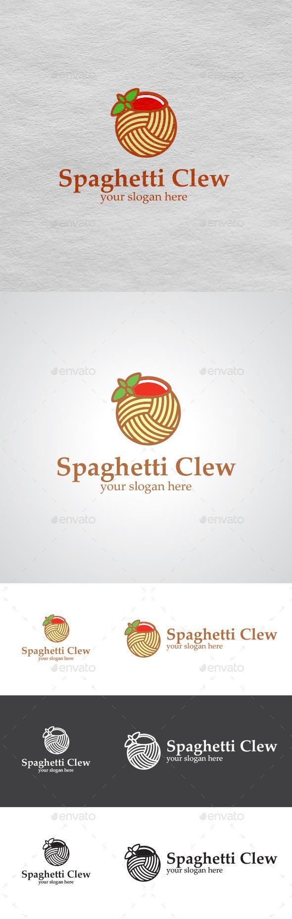 GraphicRiver Spaghetti Logo 9403042