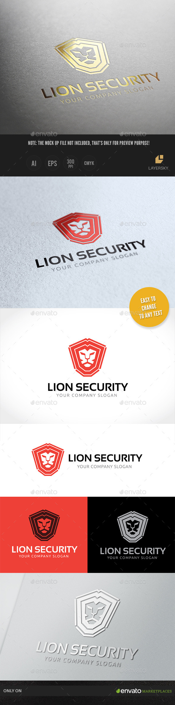 GraphicRiver Lion Security 9403815