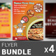Restaurant Business Flyer Bundle | Volume 5
