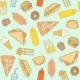 Fastfood Pattern - GraphicRiver Item for Sale
