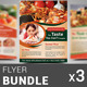 Restaurant Business Flyer Bundle | Volume 4