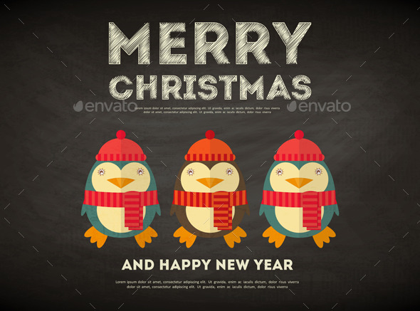 GraphicRiver Merry Christmas Greeting Card 9404433