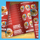 Restaurant Fast Food Menu Bifold Brochure - GraphicRiver Item for Sale