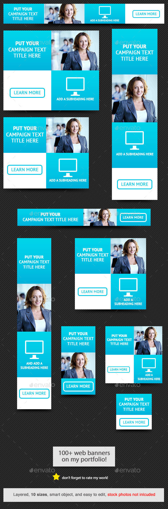 GraphicRiver Corporate Web Banner Design Template 55 9404718