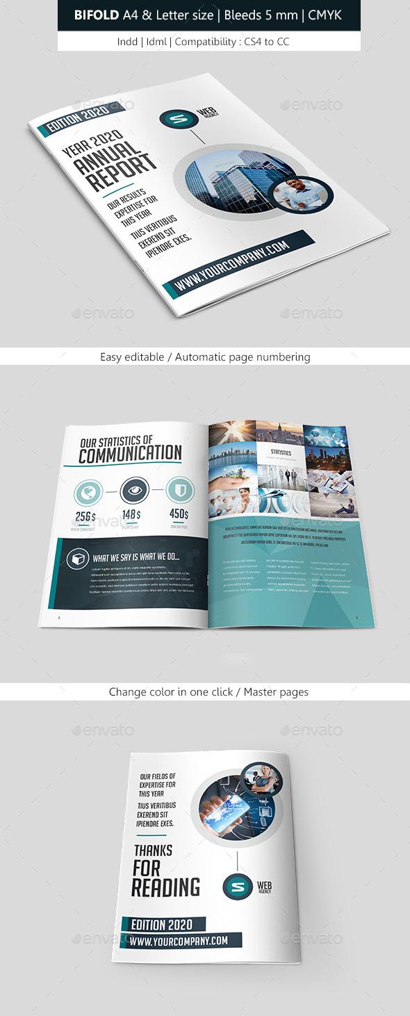GraphicRiver Corporate Brochure Template Bifold 9350289