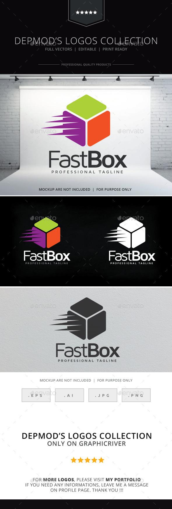 GraphicRiver Fast Box Logo 9404914