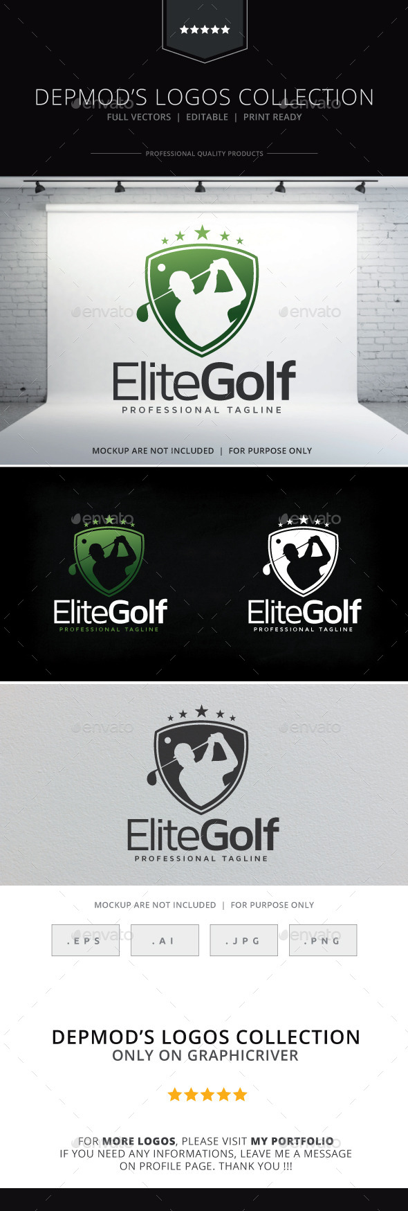GraphicRiver Golf Logo 9405578