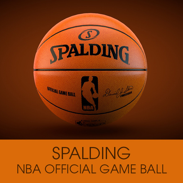 3DOcean Spalding NBA Official ball 9405838