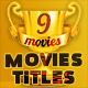 Action Movies Titles - Different genres and styles - VideoHive Item for Sale